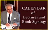 Calendar of Lectures and Book Signings